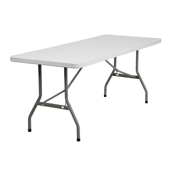 1800 trestle table white