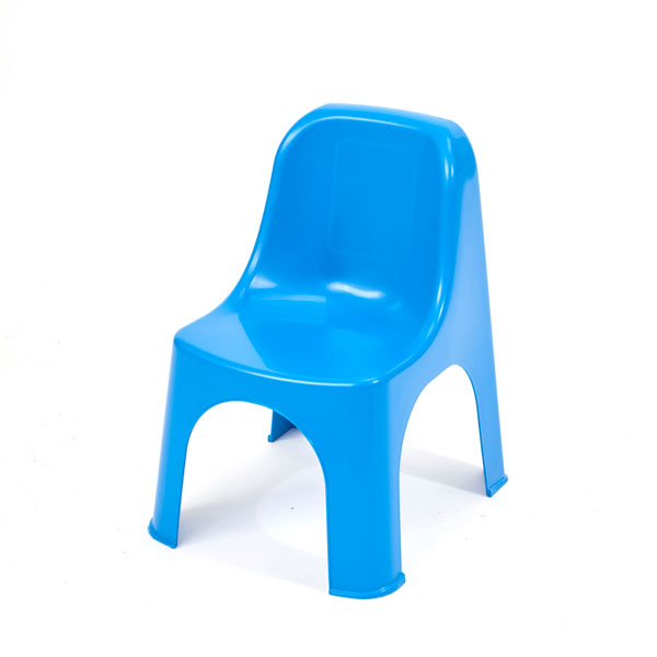 Childrens chair blue