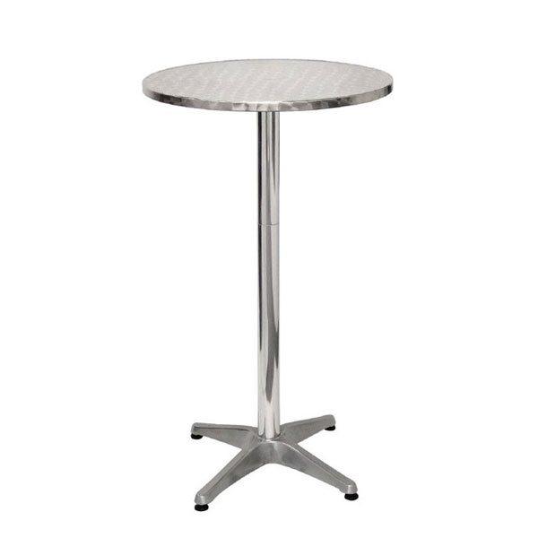 steel poseur tables