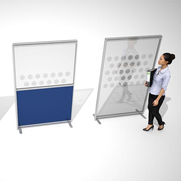 singular freestanding screen